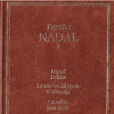 Libros: PREMIOS NADAL 2 - EDICIONES DESTINO, EDITORIAL PLANETA - OFERTAS DOCABO. Lote 131196076