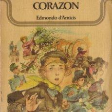 Libros: CORAZON - EDMONDO D'AMICIS - OFERTAS DOCABO. Lote 131311459