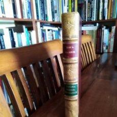 Libros: SAHARA MARRUECOS GUINEA EXPEDICIONES AFRICANAS JOSE A. VALVERDE ENCUADERNADO EN PIEL. Lote 131983498