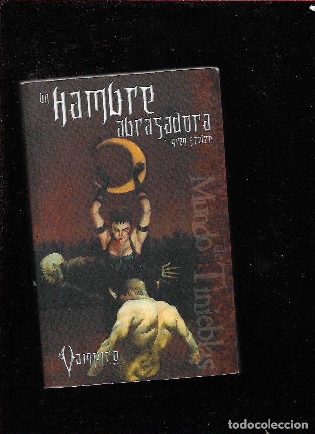 HAMBRE ABRASADORA - UN. VAMPIRO segunda mano