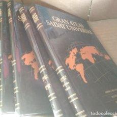 Libros: GRAN ATLAS SALVAT UNIVERSAL, 4 TOMOS, LIBROS. Lote 132772846