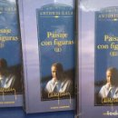 Libros: ANTONIO GALA **** PAISAJE CON FIGURAS *** LOTE TRES LIBROS PRECINTADOS. Lote 133220750