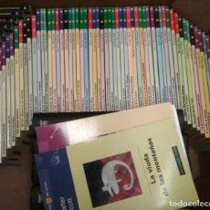 Libros: LOTE DE 57 LIBROS DE LA COLECCION LAS NOVELAS DEL VERANO, BIBLIOTECA EL MUNDO. Lote 133687346