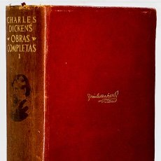Libros: DICKENS, CHARLES: OBRAS COMPLETAS, I (AGUILAR) (CB). Lote 134050758