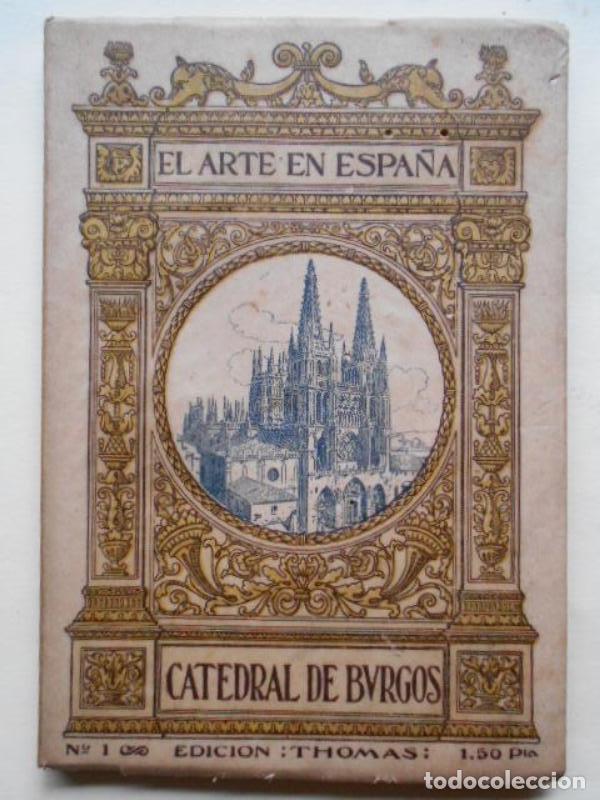 Libros: El Arte en España. Edición Thomas. Bajo el Patronato de la Comisería Regia del Turismo y Cultura Art - Foto 2 - 134503442