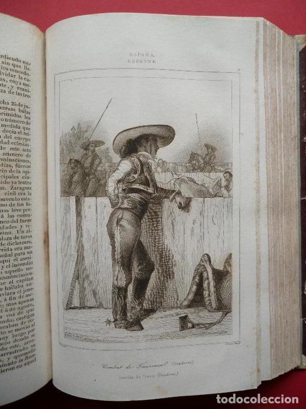 Libros: ESPAÑA. Panorama Universal. Historia y Descripción de todos los Pueblos: España. Historia de España - Foto 3 - 134513977