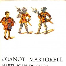 Libros: TIRANT LO BLANC - JOANOT MARTORELL (MARTÍ JOAN DE GALBA) - ARIEL - CLÀSSICS CATALANS ARIEL. Lote 134975879