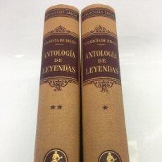 Libros: ANTOLOGIA DE LEYENDAS, TOMOS I Y II , POR V.GARCIA DE DIEGO, EDITORIAL LABOR S.A. - 1954. Lote 135047562