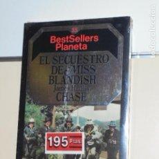 Libros: BESTSELLERS PLANETA Nº 35 EL SECUESTRO DE MISS BLANDISH JAMES HANDLEY CHASE. Lote 135102642