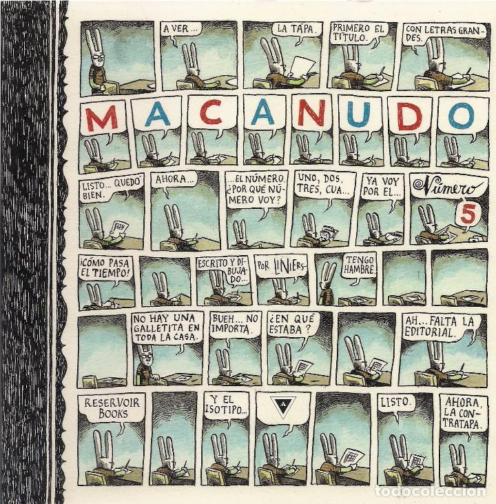 LINIERS : Macanudo 5. (Random House Mondadori, 2009) segunda mano