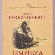 Libros: LIMPIEZA DE SANGRE PEREZ -REVERTE 251 PAGINAS VALENCIA AÑO 1996 LE2626 . Lote 135192230