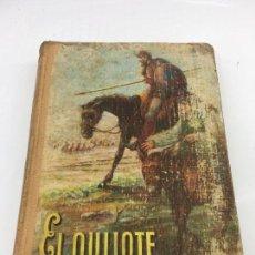 Libros: EL QUIJOTE EDICION ESCOLAR, POR MIGUEL DE CERVANTES SAAVEDRA , EDITORIAL LUIS VIVES S.A. - 1949. Lote 135415610