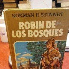 Libros: ROBIN DE LOS BOSQUES.NORMAN R.STINNET.EDT BRUGUERA.BRUMART TU LIBRERIA. Lote 135884342