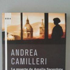 Bücher - La muerte de Amalia Sacerdote - Camilleri, Andrea - 115920807