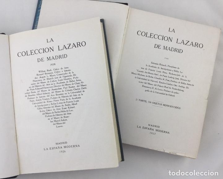 Libros: La colección Lázaro de Madrid (2 vol) - Varios autores - Foto 2 - 135988493