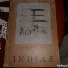 Libros: FACSIMILE DE CARTAS DE INDIAS. Lote 136055682