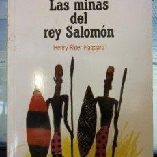 Libros: BJS. LAS MINAS DEL REY SALOMON. HENRY RIDER HAGGARD. EDT. EL PAIS. BRUMART TU LIBRERIA. . Lote 136450926