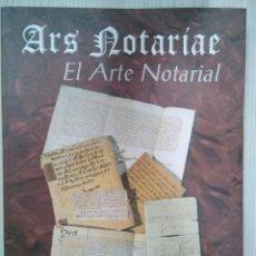 Libros: ARS NOTARIAE. EL ARTE NOTARIAL. 2000. EDITA BANCAJA. VVAA. Lote 136456750
