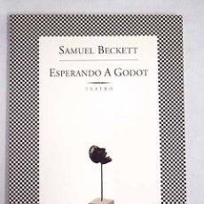 Libros: ESPERANDO A GODOT. Lote 136530984