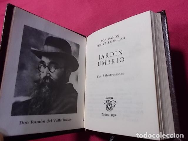 JARDÍN UMBRIO. RAMON DEL VALLE-INCLAN. Nº 029. EDITORIAL AGUILAR. 1969. MINI LIBRO segunda mano