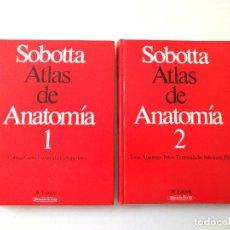 Libros: SOBATTA ATLAS DE ANATOMÍA. Lote 137318718