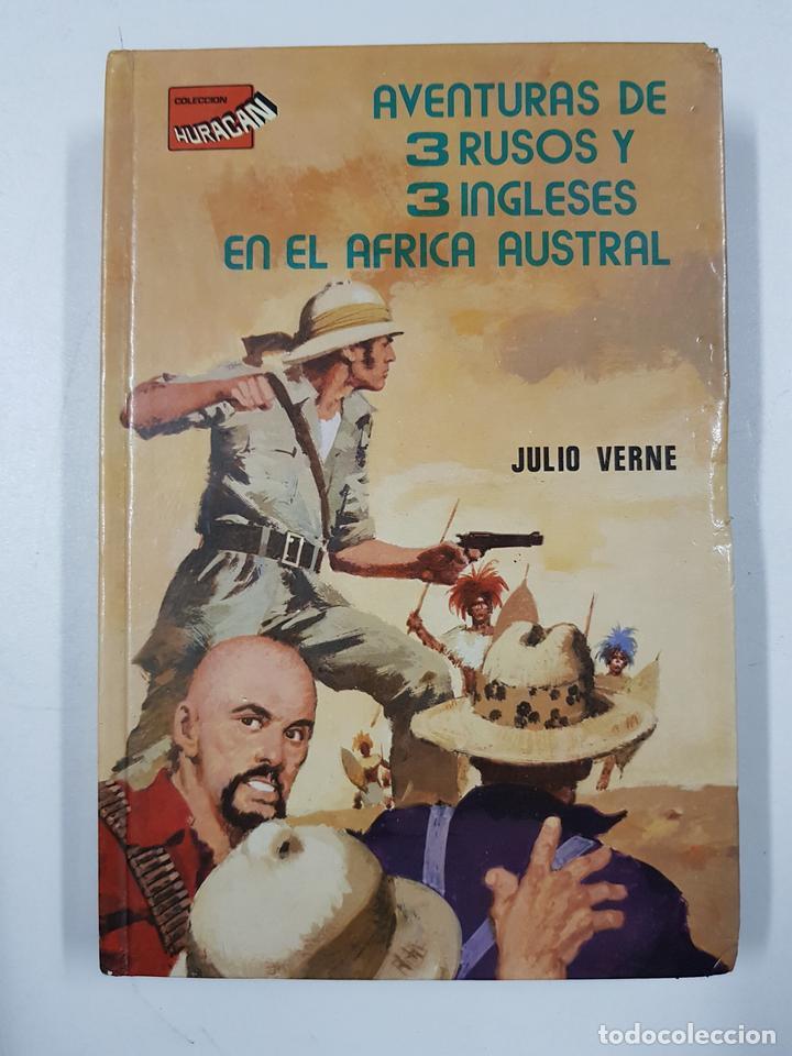 Aventuras de 3 rusos y 3 ingleses en el Africa austral (colección Huracan) / Julio Verne, usado segunda mano
