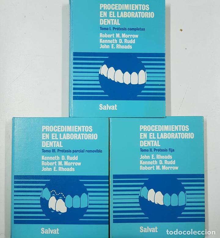 procedimientos de laboratorio para protesis dental parcial fija