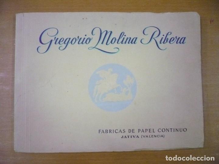 ALBUM DE LA PAPELERA DE SAN JORGE. FÁBRICA DE PAPEL CONTINUO , - GREGORIO MOLINA RIBERA (Libros sin clasificar)