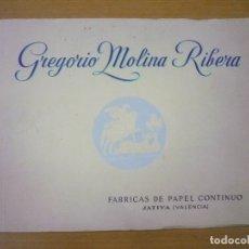 books - ALBUM DE LA PAPELERA DE SAN JORGE. Fábrica de papel continuo , - GREGORIO MOLINA RIBERA - 57173338