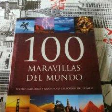 Libros: 100 MARAVILLAS DEL MUNDO. TESOROS NATURALES Y GRANDIOSAS CREACIONES DEL HOMBRE. MICHAEL HOFFMANN.. Lote 137485648