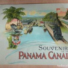 Libros: SOUVENIR OF THE PANAMA CANAL - LIBRETO. Lote 137666762