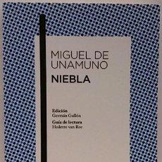 Libros: NIEBLA. Lote 137960042