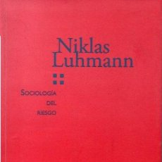 Bücher - LUHMANN, Niklas. - SOCIOLOGIA DEL RIESGO. - 137989522