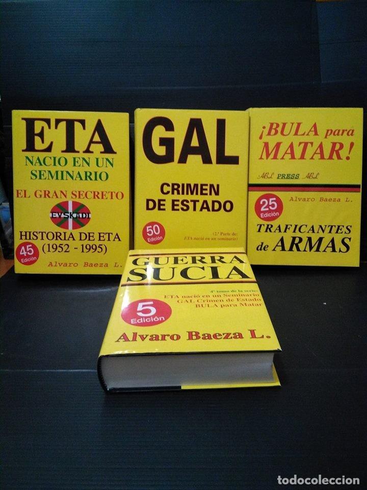 LOTE 4 TOMOS ETA NACIÓ EN UN SEMINARIO. TETRALOGÍA COMPLETA. ÁLVARO BAEZA. MUY BUEN ESTADO (Libros sin clasificar)