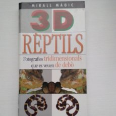 Libros: REPTILS. MIRALL MAGIC 3D. AMB MIRALL VISOR. Lote 139690804