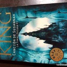 Libros: CANCIÓN DE SUSANNAH. LA TORRE OSCURA VI - STEPHEN KING. Lote 139915602