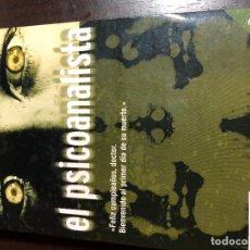Libros: EL PSICOANALISTA - JOHN KATZENBACH. Lote 139915986