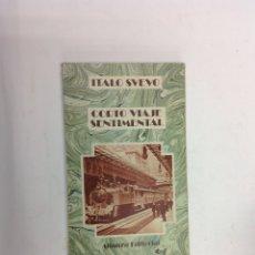 Libros: ITALO SVEVO - CORTO VIAJE SENTIMENTAL . ALIANZA EDITORIAL. Lote 139946958