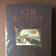 Libros: KEN FOLLET / LA CAIDA DE LOS GIGANTES .EDICION DE LUJO CON ESTUCHE.PLAZA&JANÉS.1ª EDICIÓN.PRECINTAD. Lote 148611177
