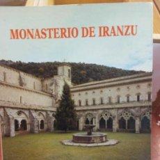 Libros: BJS. MONASTERIO DE IRANZU. MANUEL LOPEZ LACALLE. BRUMART TU LIBRERIA. . Lote 140094210