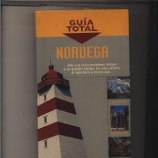 Libros: GUIA TOTAL: NORUEGA ANAYA TOURING CLUB 2007 BUEN ESTADO. Lote 140350462