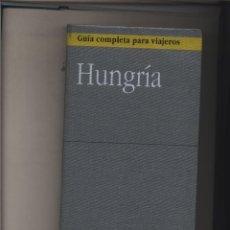 Libros: GUIA COMPLETA PARA VIAJEROS. HUNGRIA. ANAYA MADRID. 1999. GASTOS DE ENVIO GRATIS. Lote 140351038