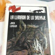 Libros: LIBRO LA LLAMADA DE LO SALVAJE (EDICIONES ANAYA) N°54. Lote 140420306