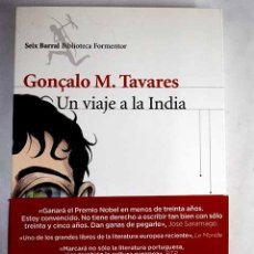 Libros: UN VIAJE A LA INDIA. Lote 140552746