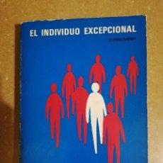 Libros: EL INDIVIDUO EXCEPCIONAL (CHARLES W. TELFORD / JAMES M. SAWREY). Lote 141152690