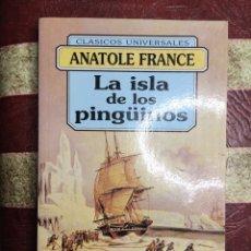 Libros: LA ISLA DE LOS PINGÜINOS. Lote 141446902