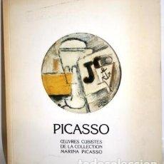 Livros em segunda mão: PICASSO. OEUVRES CUBISTES DE LA COLLECTION MARINA PICASSO - GALERIE JAN KRUGIER. Lote 105489232