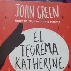 Libros: EL TEOREMA KATHERINE. Lote 141900393