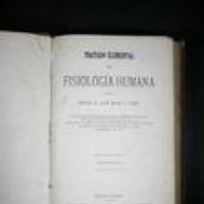 Libros: TRATADO ELEMENTAL DE FISIOLOGIA HUMANA II - MAGAZ JAIME, JUAN. Lote 141047422