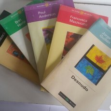 Libros: 5 NOVELAS DE VERANO/EL MUNDO/ 1998.. Lote 142319029
